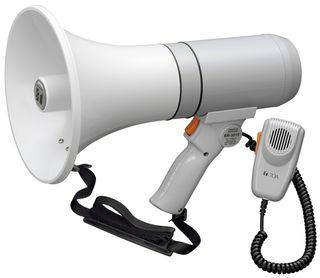 Toa 15w Megaphone wsiren Hand Held Shoulder Worn