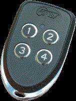 Airkey AKTX4 Radio Transmitter 4 Bttn 433.92 Mhz