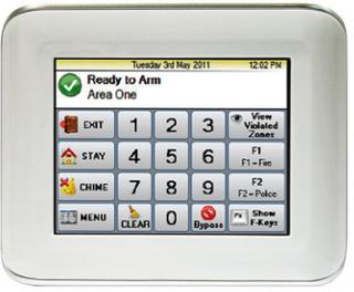 Ness M1 Navigator Touch Screen Keypad