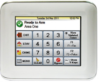 Ness M1 Navigator Touch Screen Keypad