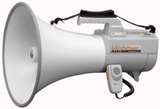 TOA 30W Shoulder Megaphone with Whistle