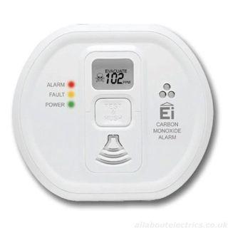 Brooks EI CO Detector Alarm - Lithium with Radio