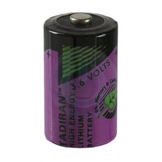 NFS 1/2 AA Lithium Battery 3.6V 1.2Ah
