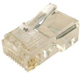 Dynamix RJ45 Plug Solid Core Round x 20