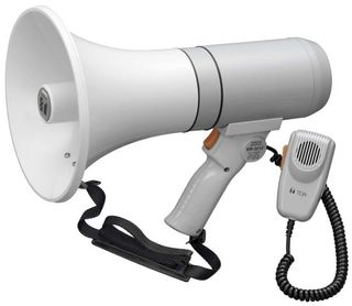 TOA 15W Shoulder or Hand Held Megaphone