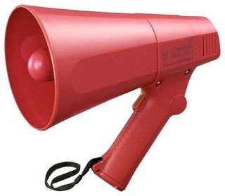 TOA 6W Hand Held Megaphone with Siren