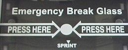 Sprint Emergency Break Glass - Spare Glass