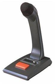 TOA Desk Paging Mic - DIN Plug