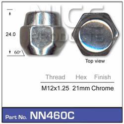 Chrome Nut
