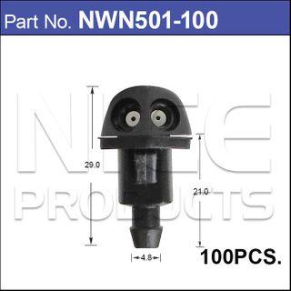 Nozzle Push-on pk100
