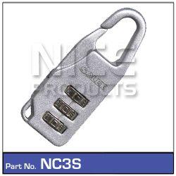 Combination Lock Silver