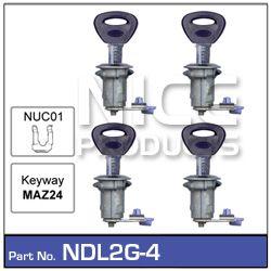 Door Lock set 4