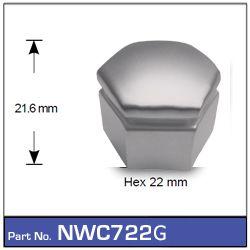 Grey VE Wheel Nut Caps