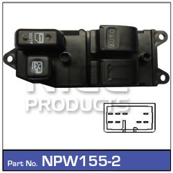 2 Button Power Window Switches