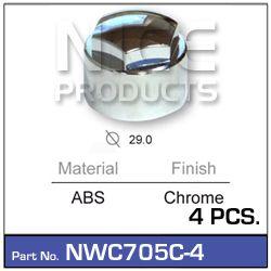 Wheel Nut Cover Chrome (4)