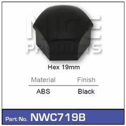 Wheel Nut Cover Black