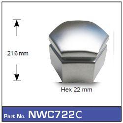 Wheel Nut Cover Chrome