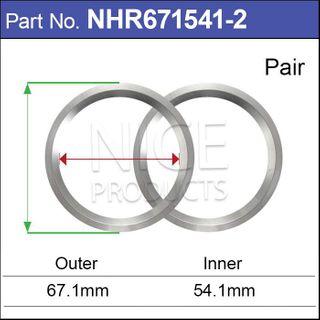 Aluminium Hub Rings