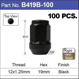 Black Nuts pk100