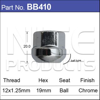 Ball Seat Wheel Nut
