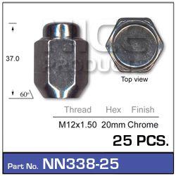 Wheel Nuts pk25