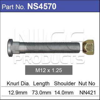 Long Stud & Nut