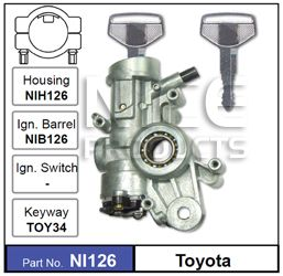 Ignition Housing (no stock)