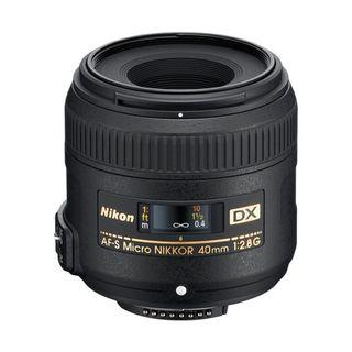 NIKKOR AF-S DX 40MM F2.8G MICRO MACRO LENS