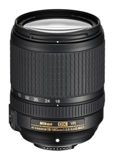 NIKKOR AF-S DX 18-140MM F3.5-5.6G ED VR TELEPHOTO ZOOM LENS