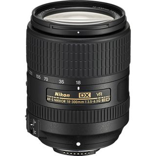 NIKKOR AF-S DX 18-300MM F3.5-6.3G ED VR TELEPHOTO ZOOM LENS