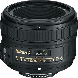 NIKKOR AF-S FX 50MM F1.8G PRIME LENS