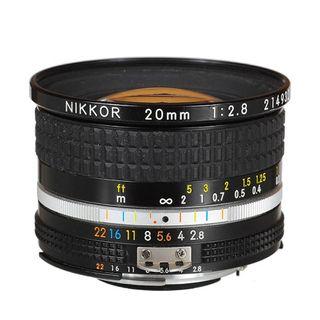 NIKKOR AI-S FX 20MM F2.8 WIDE ANGLE LENS
