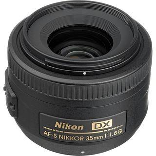 NIKKOR AF-S DX 35MM F1.8G PRIME LENS