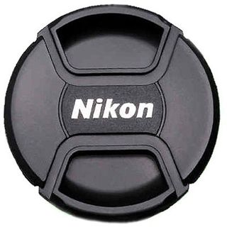 NIKON LC-58 SNAP-ON FRONT LENS CAP 58MM