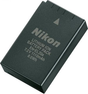 NIKON EN-EL20A RECHARGEABLE LI-ION BATTERY P1000 P950