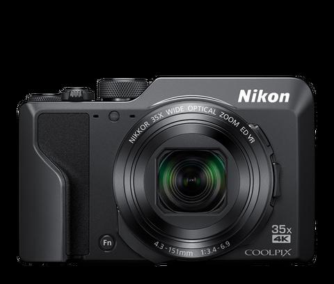 NIKON COOLPIX A1000 35X SUPER ZOOM COMPACT CAMERA BLACK