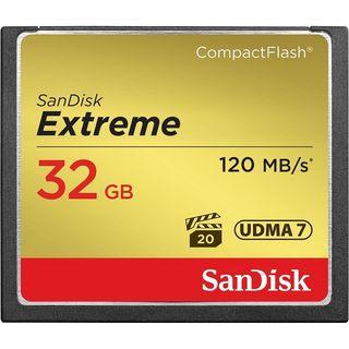 SANDISK EXTREME CF 32GB VPG20 120MB/S