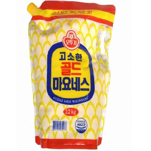 POUCHED MAYONNAISE 3.2KG
