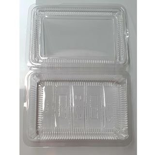 CLEAR CONTAINER 6H 100P/10