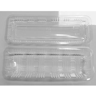 CLEAR CONTAINER H-24-B 100P/32