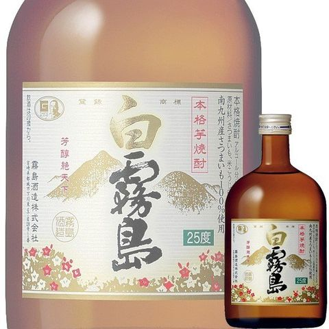 SHOCHU / SHIRO KIRISHIMA 25% 720ML