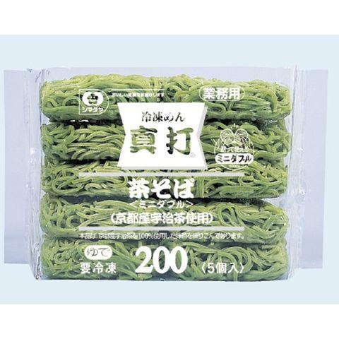GREEN TEA SOBA NOODLE 5P 200gx5P/4x2