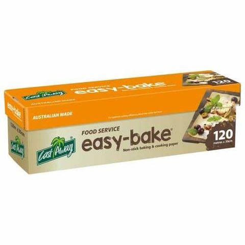 EASY BAKE  BAKING PAPER  120m 40cm 1p/4