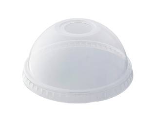 DOME LID FOR PET COLD DRINK CUP 15OZ