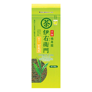 IEMON GENMAI TEA LEAF 200G/12