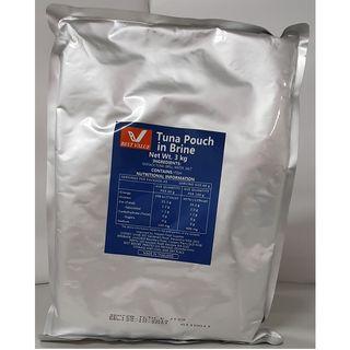 POUCHED TUNA IN BRINE 3kg/4