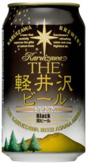 KRZ BEER THE KARUIZAWA  BLACK 350ML/24