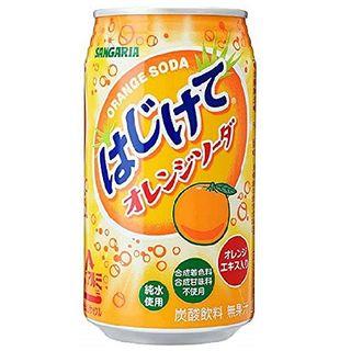 HAJIKETE ORANGE SODA CAN 350ML/24