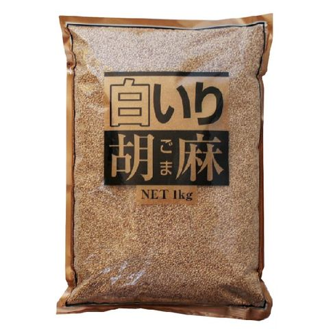 ROASTED SESAME SEED WHITE 1KG
