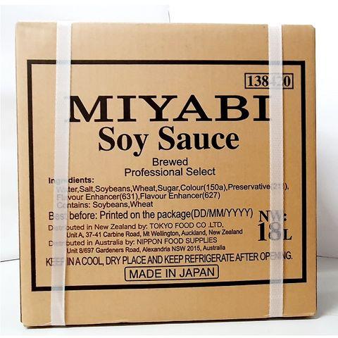 MIYABI SOY SAUCE 18L/1